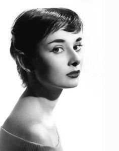 Audrey Hepburn photographed by Gene Moore c. 1952.