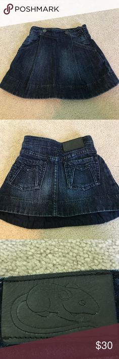 Little Marc Jacobs jean skirt Blue jean skirt with a side zip. Amazing on a little fashionista. Little Marc Jacobs Bottoms Skirts