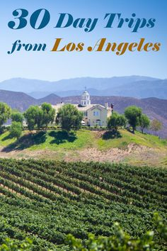 30 best day trips from Los Angeles - the ultimate list of places to go including beaches, mountains, city breaks and family days out. Los Angeles Day Trips, Los Angeles Area, Best Family Beaches, Los Padres National Forest, San Gabriel Mountains, Central Valley, Family Days Out, California Dreamin', Beach Fun