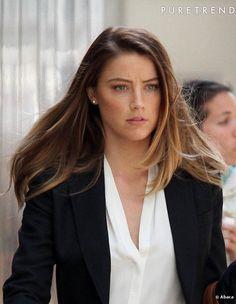 """Pour """"Paranoia"""", Amber Heard enfile la tenue de travail des employés de la finance"""