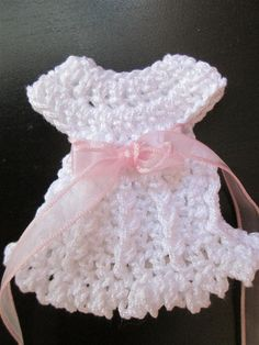 Crochet Dress Favors Pattern, Baby Shower, Baptism, Christening, Buy ONE  Pattern Get