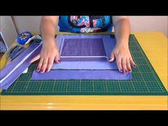 Este vídeo mostra como aplicar o zíper em bolsa, deixando uma ponta embutida no…