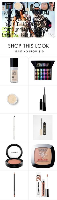 """Katy Perry - """"Hot N Cold"""" Makeup Tutorial by oroartye-1 on Polyvore featuring beauty, Givenchy, MAC Cosmetics, Urban Decay, Buxom, Bare Escentuals and L'Oréal Paris"""