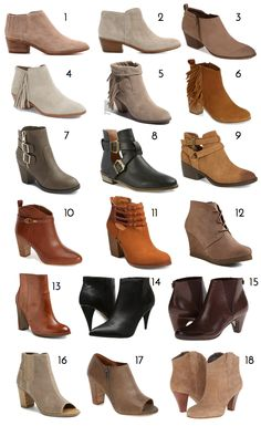 booties In the Style Help Survey a bunch of people asked questions about ankle boots. How do you wear them? Is there a trick to making them look good with jeans? What are some outfit ideas wi Boots Marron, How To Wear Ankle Boots, Brown Ankle Boots Outfit, Ankle Boot Outfits, Ankle Booties Outfit, Short Boots Outfit, Fall Booties, Outfit Ideas, Ankle Boots