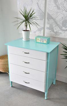 Refinished Vintage Cabana Dresser