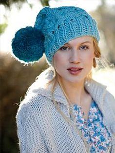 Ravelry: Bobble Hat pattern by Erika Knight