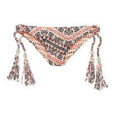 Victoria's Secret Reversible Triangle Top (795 THB) ❤ liked on Polyvore featuring swimwear, bikinis, bikini tops, print bikini, tie bikini, triangle bikini top, victoria secret swimwear and triangle swimwear