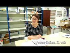 Emmi, viikko 3: Muotoilun opiskelijoiden esittely (design) Story Video, Anna, Blog, Design, Blogging