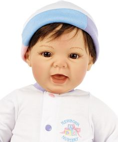 Look at this Brown-Haired Light Skin Munchkin Doll on #zulily today!