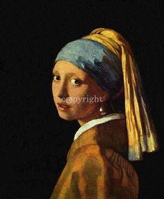 Koop Meisje met parel van Jan Vermeer voor slechts € 29,75