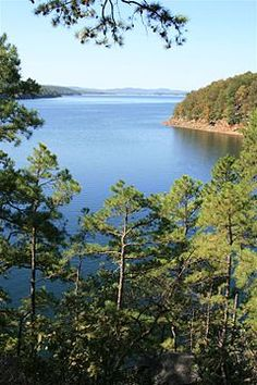 Lake Ouachita - The most beautiful lake I have ever seen and one of the cleanest in the world!  The water is so clear you can see down deep!  Crystal Capitol of the world!