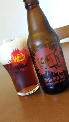 Irish Red Ale, by Brazilian brewery Way Beer.