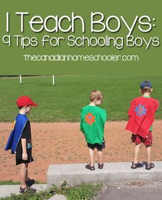 """As a mom of 4boys, I can't tell you the number of times I hear wonderful comments like """"You are busy"""" and """"You've got your hands full!"""" Well-meaning, I'm sure, but somewhat irritating. I like to add to the conversation with a cheery """"AND I homeschool!"""" – complete with grin. There's something that satisfies me …"""