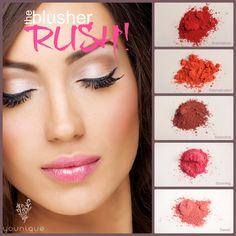 Feel the rush.  #youniqueproducts #beauty #mineralmakeup  SHOP NOW AT www.lashmiracle.org