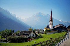 Telfes im Stubai , Austria
