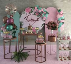D N Angel, Balloon Decorations, Table Decorations, Beautiful Birthday Cakes, Tropical Party, Party Shop, Party Guests, For Your Party, Party Photos