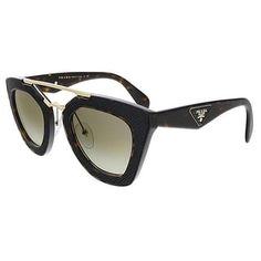 5ef99d3c5085 Overstock.com: Online Shopping - Bedding, Furniture, Electronics, Jewelry,  Clothing & more. Prada PR014SS 2AU4M1 Havana Cateye Sunglasses ...