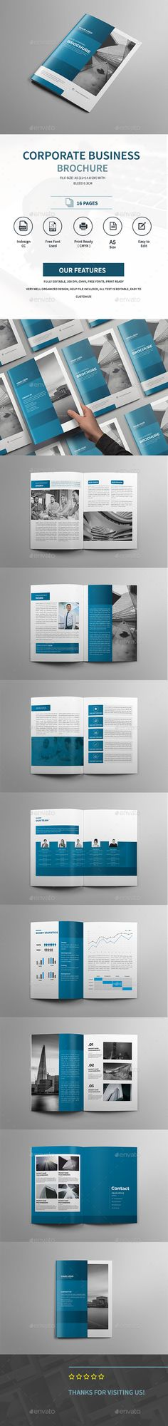 Business Report Brochure Template  Business Brochure Brochure