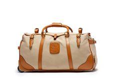 KILBURN RS No. 252 | Khaki Twill Rolling Suitcase