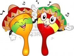 Picture of Mascot Illustration of a Pair of Maracas Wearing Mexican Costumes stock photo, images and stock photography. Cartoon Faces, Cartoon Drawings, Easy Diy Crafts, Diy Crafts For Kids, Taco Bar Party, Owl School, Fruit Sketch, Mexican Costume, Taco Stand