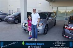 Happy Anniversary to Matthew on your #Honda #Odyssey from Alan Williams at Honda Cars of Rockwall!  https://deliverymaxx.com/DealerReviews.aspx?DealerCode=VSDF  #Anniversary #HondaCarsofRockwall