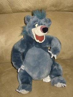 Jungle Book 158765: Disneys Jungle Book Plush Baloo 12 -> BUY IT NOW ONLY: $49.18 on eBay!