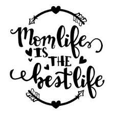 mom lettering Silhouette Design Store: mom life is - mom