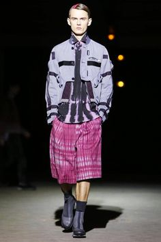 Dries Van Noten Menswear Fall Winter 2014 Paris - NOWFASHION