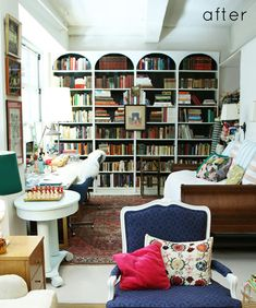 Bookshelves! Arched