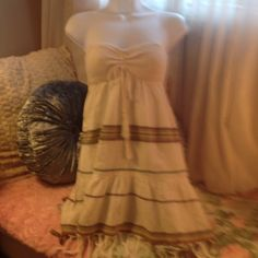 NWT bills bong dress sz sm with straps Nwt cute dress for summer straps in bag attached to dress Billabong Dresses