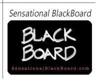 Sensational Blackboard *repinned by Wonderbaby.org