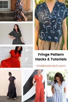 The possibilities are endless with the Fringe Dress and Top online PDF sewing pattern! Since its release, the Fringe has been a customer favorite. Use these DIY tutorials to customize your Fringe and make a handmade dress, top, or jumpsuit to fit your personal style. Click over to read more!