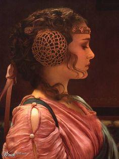 Padme Amidala- She is just too cute!