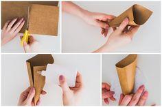 Post DIY Cone para Casamento