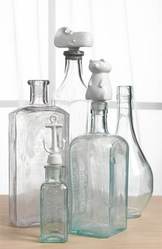Jonathan Adler 'Moby Dick' Bottle Stopper Duo