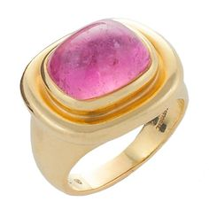 Tiffany & Co. Tourmaline and Gold Ring