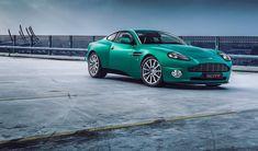 Matte green Aston Martin Vanquish