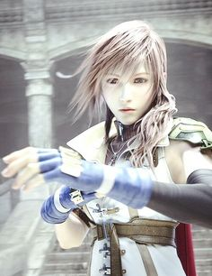 Lightning- aww look at her face! Final Fantasy Girls, Final Fantasy Artwork, Final Fantasy Characters, Fantasy Series, Fantasy World, Fictional Characters, Lightning Game, Lightning Images, Kingdom Hearts Games