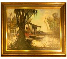 New Orleans Painting, Colette Hedler, Paintings