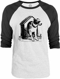 Big Texas Dog House 3/4-Sleeve Raglan Baseball T-Shirt