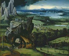 Paisaje con san Jerónimo, Joachim Patinir, Museo del Prado - Joachim Patinir - Wikipedia, the free encyclopedia