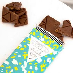SEA SALT WAFFLE CONE Milk Chocolate Bar x KW