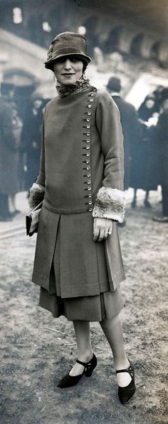 Street Fashion - 1926 - Photo by Meurisse