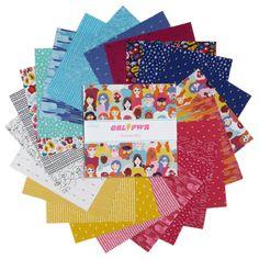 """Riley Blake Grl Pwr 10"""" Stacker 42 Pcs. - Fabric.com Grl Pwr, Riley Blake, Fabric, Cards, Stuff To Buy, Tejido, Tela, Cloths, Fabrics"""