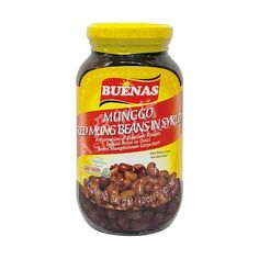 Buenas Red Mung Beans in Syrup 340g