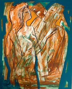 Unique expressive composition depicting a Queen and her admirers. Acrylic on paper, frame and anti-reflex cover included. [The Queen, 2008 by Rumen Sazdov] #buyart #expressionism #figurative #supportlivingartists Queen, Expressionism, Figurative, Buy Art, Paper Art, Composition, Unique, Cover, Frame