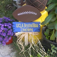 UCLA Bruins Fans Live Here. $18.00, via Etsy.