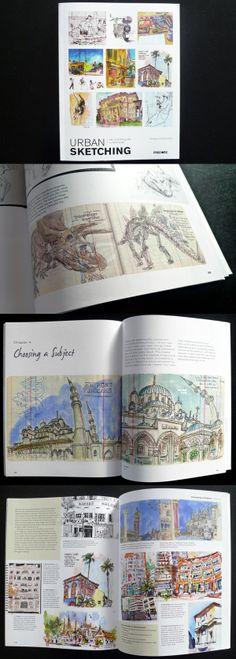 urban sketching book