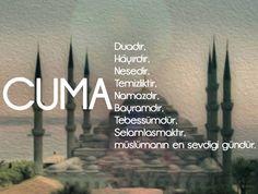 Hayırlı Cumalar.... Islamic Quotes, Cool Words, Lyrics, Author, Peace, Messages, Mj, Icons, Instagram