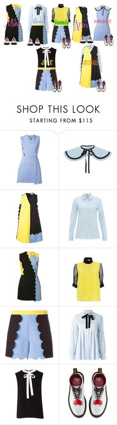 """""""Amore - My Love"""" by mikki102 ❤ liked on Polyvore featuring MSGM, VIVETTA, Marco de Vincenzo, Ted Baker and Dr. Martens"""